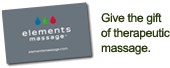 Elements Therapeutic Massage Gift Cards