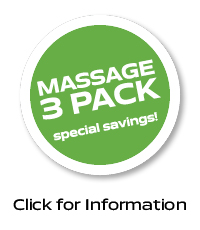 Save on a massage 3 pack!