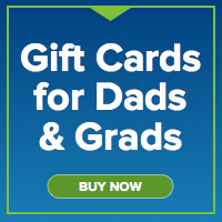 2013 Dad's and Grads Gift Cards No Price (links to/dadgrad