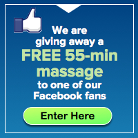 Facebook Contest for 55 Min Massage