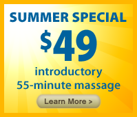 Summer Massage Special