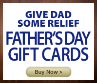 Father's Day Massage Gift Cards
