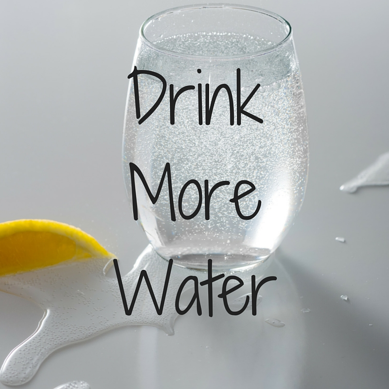 #1 Drink More Water