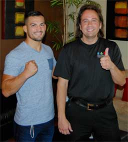 Mirsad Bektic at Elements Massage