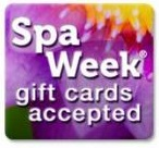 spa week gift cards accepted