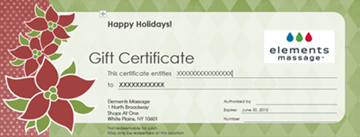 gift certificate, gift card