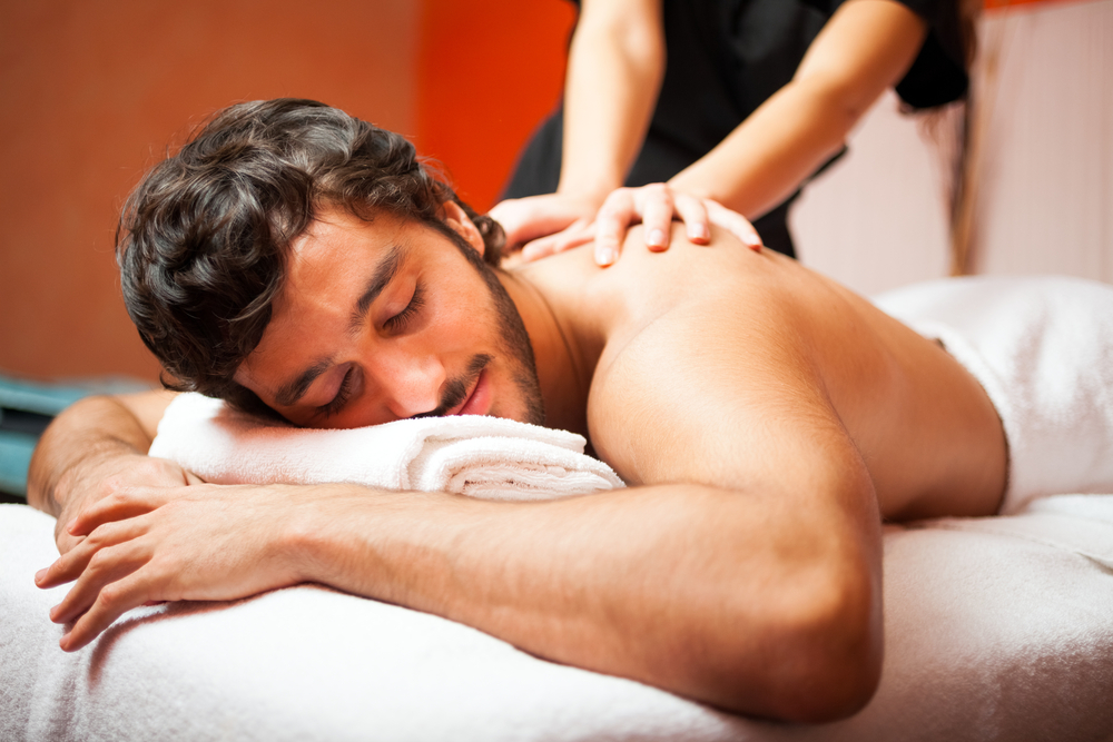 personalized massage at Elements