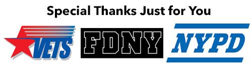 NYPD FDNY Veteran's Massage Special