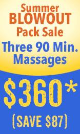 Summer massage pack sale