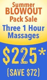 summer massage gift pack sale
