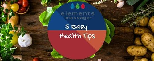 5 Easy Ways to be Healthier