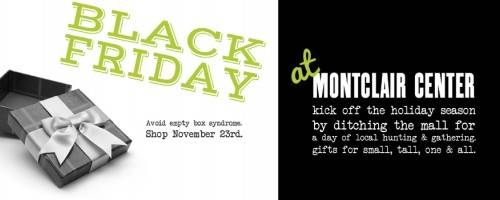 Montclair Center Black Friday Shop Local