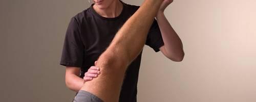 athlete receiving massage