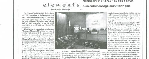 Banner Image for The Observer- Elements of Northport Article