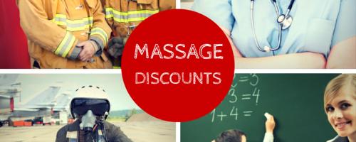 Massage Discounts on Gratitude Wednesday