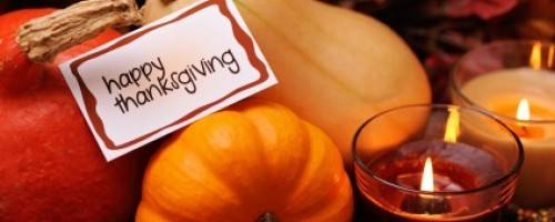 Banner Image for November -A Month to be Thankful