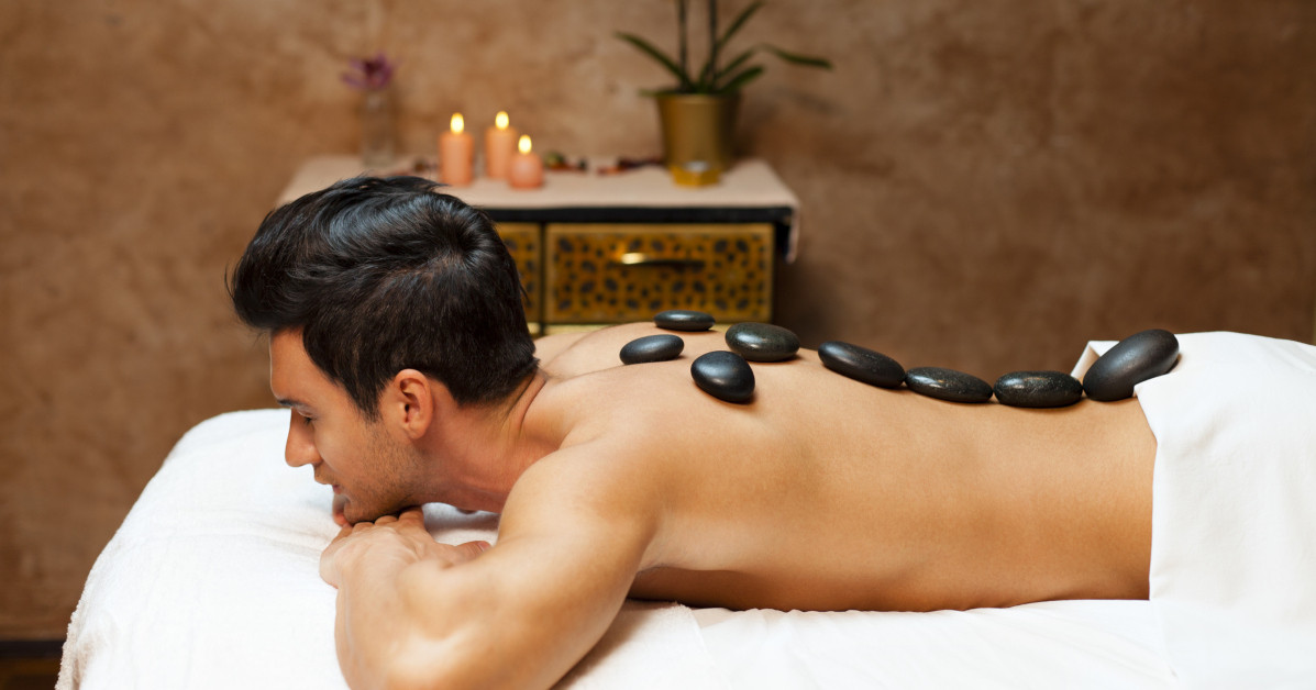 Banner Image for October is Massage Therapy Month with Elements – Learn about Hot Stone Massages