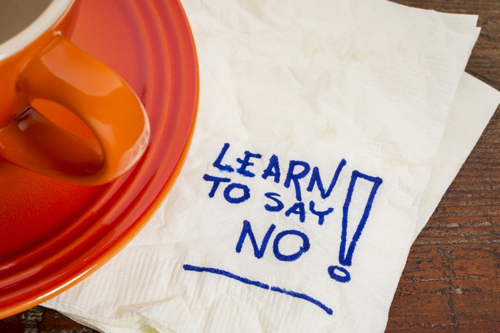 Banner Image for Self-Care: Learning to Say NO