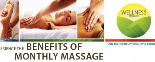 Banner Image for Experience the Benefits of Monthly Massage