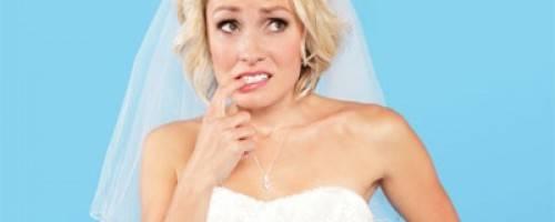 a nervous bride