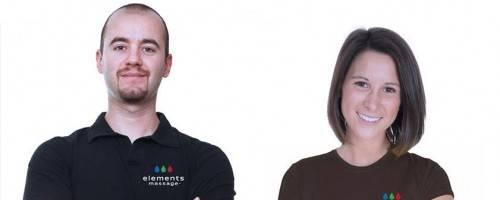 photo of 2 massage therapists