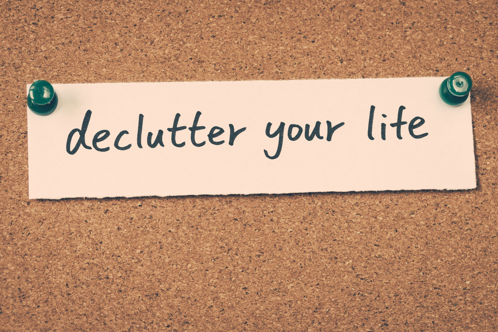 Banner Image for Mess Equals Stress- How to Declutter for Increased Peace of Mind