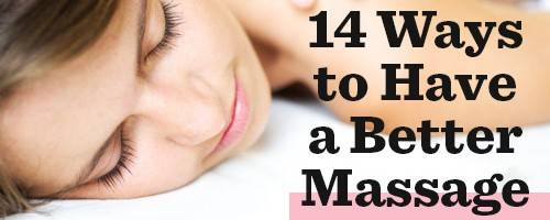 14 Things Your Massage Therapist Wants You To Know