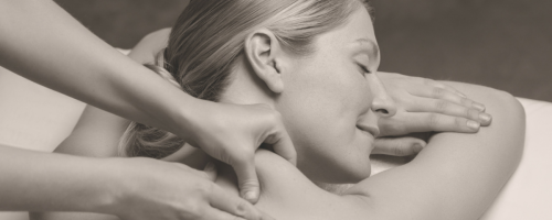 photo of woman having massage