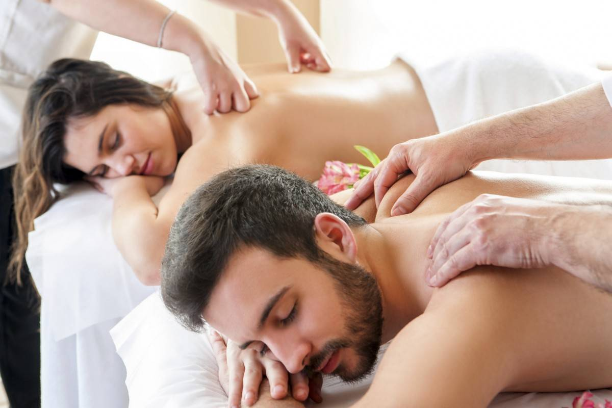 Banner Image for Better Together: Three Unexpected Benefits of Couples Massage