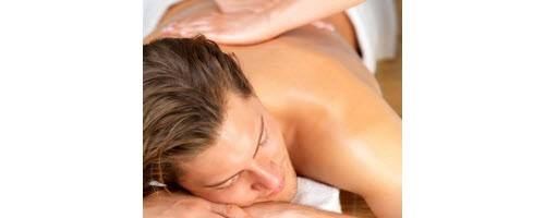 image of man getting massage