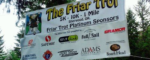 Banner Image for The 11th Annual Friar Trot!