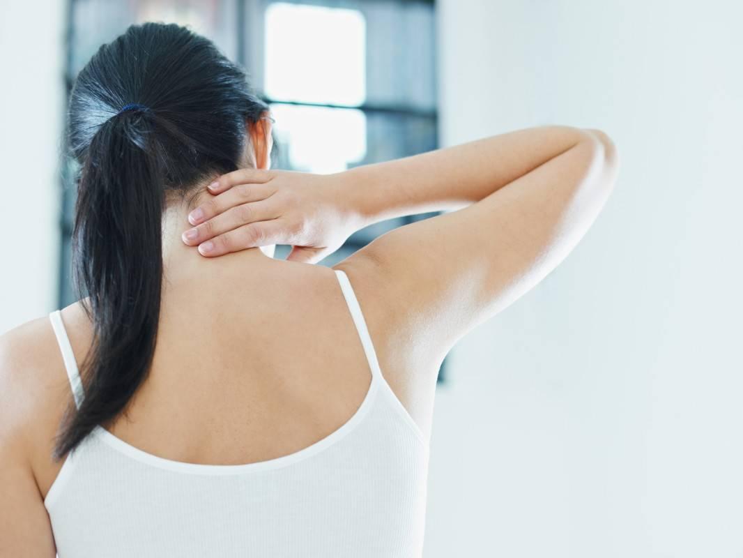 sore after a massage