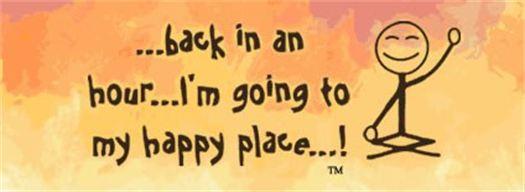 Going To My Happy Place Yoga Geneva logo