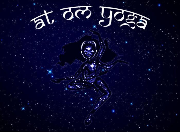 At Om Yoga logo
