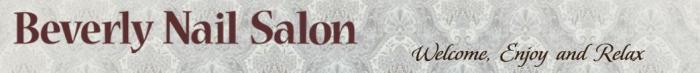 Beverly Nail Salon logo
