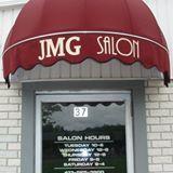 JMG Salon logo