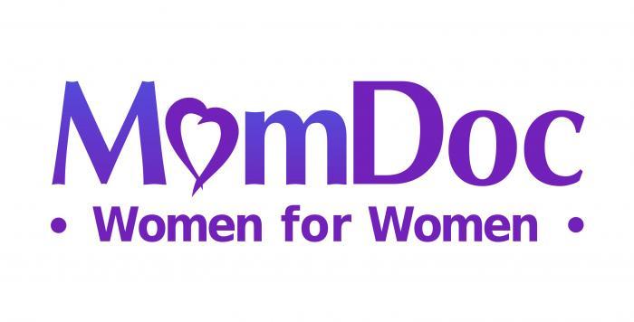 MomDoc Women for Women logo