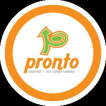 Pronto Heating and Air Conditioning logo