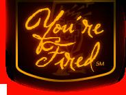 You're Fired logo