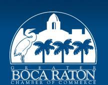 Boca Raton Chamber of Commerce logo