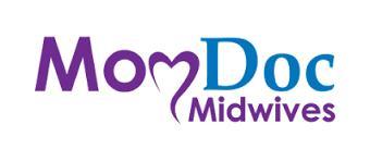 MomDoc midwives logo