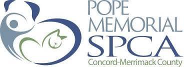 Pope Memorial SPCA logo