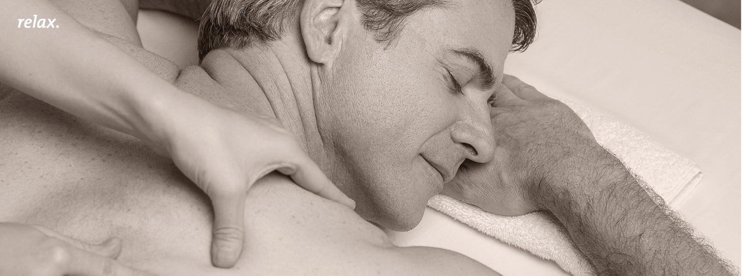 male massage image