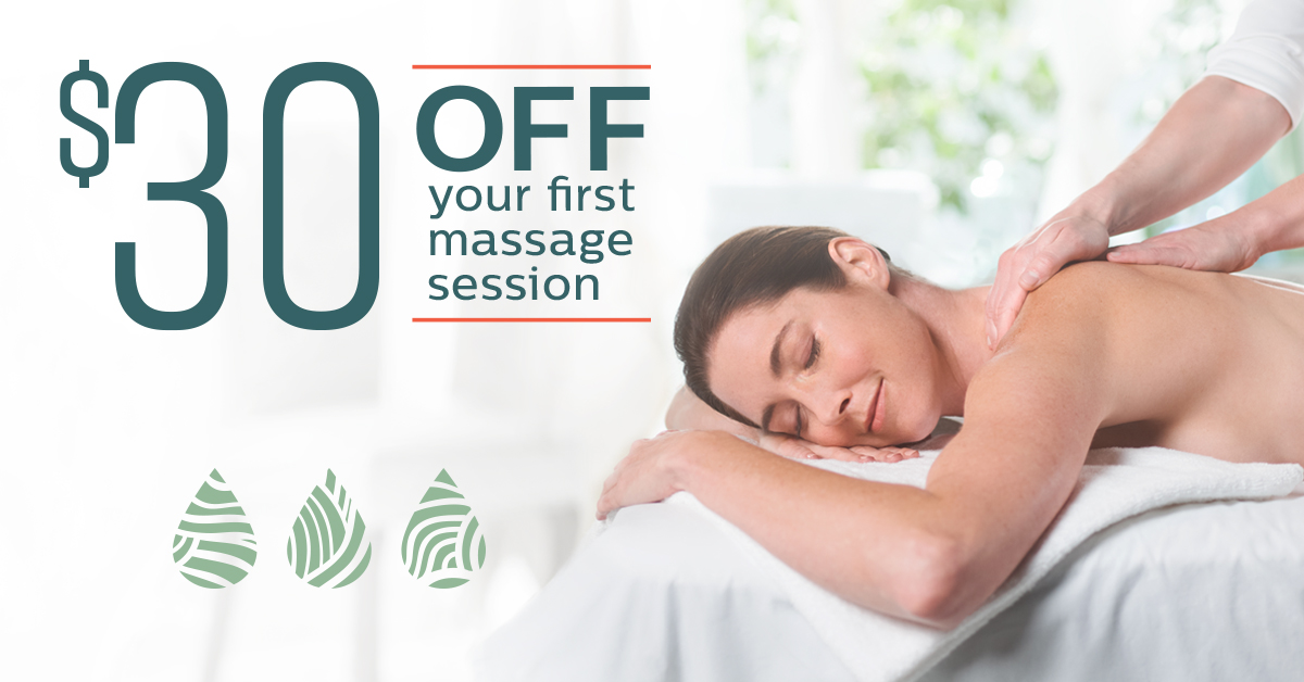 $30 off your first massage