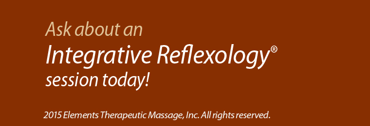 integrative reflexology at Elements Massage