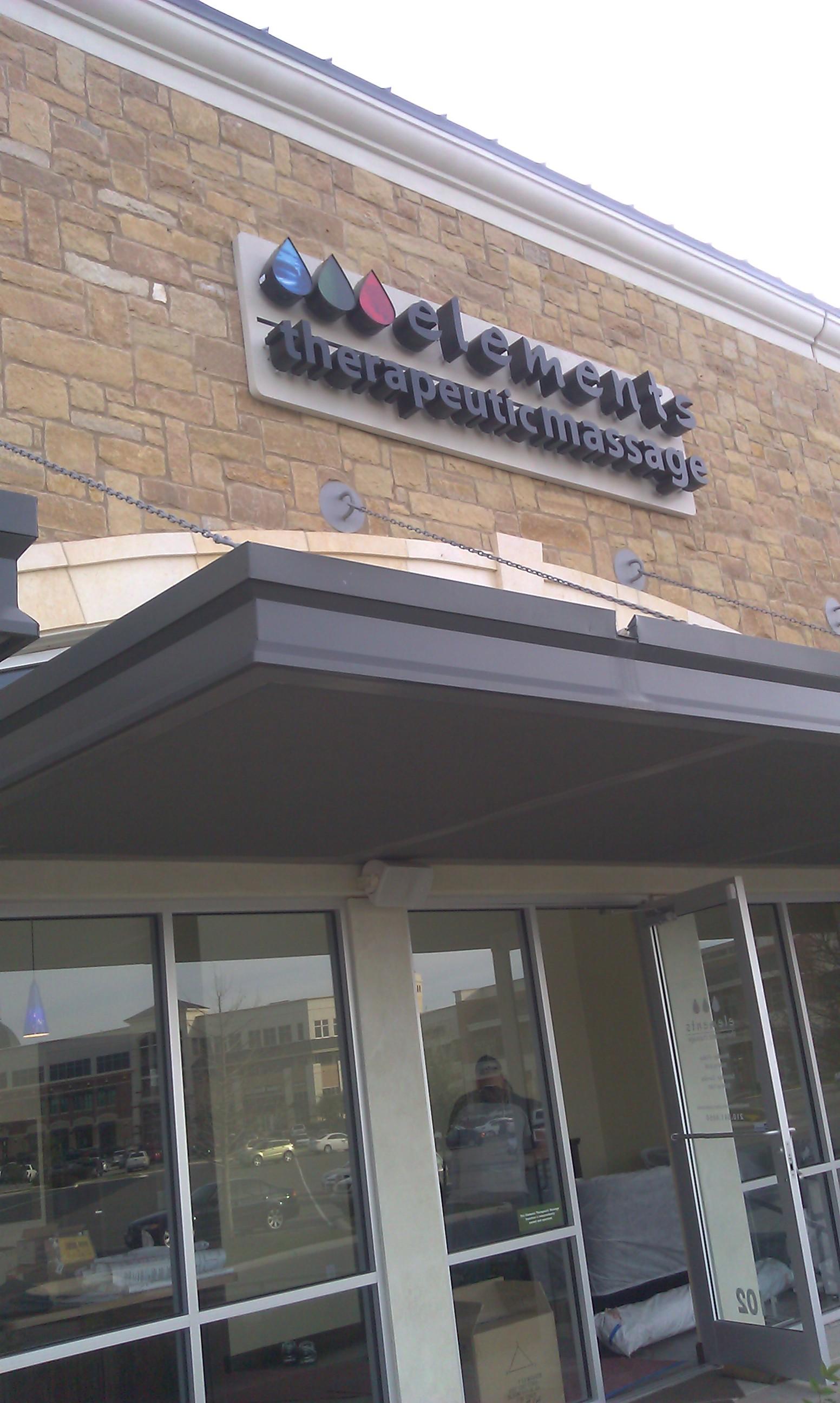 Now Open Elements Alon Town Center Elements Massage
