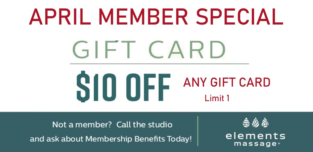 $10 off any gift card. Limit 1.