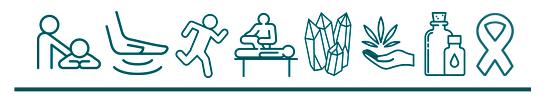 massage icons