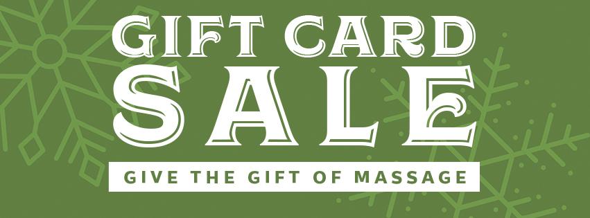massage giftt cards