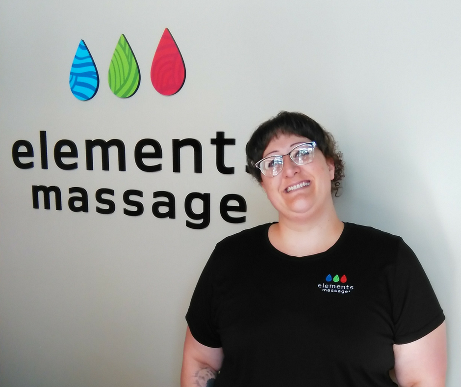 massage therapist at Elements Massage